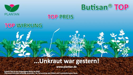 Butisan Top - Der Herbizidklassiker im Winterraps