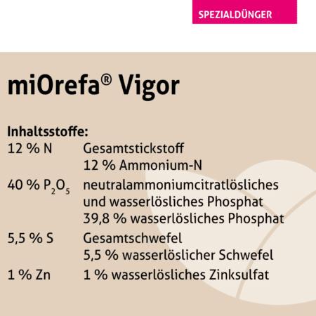 miOrefa® Vigor